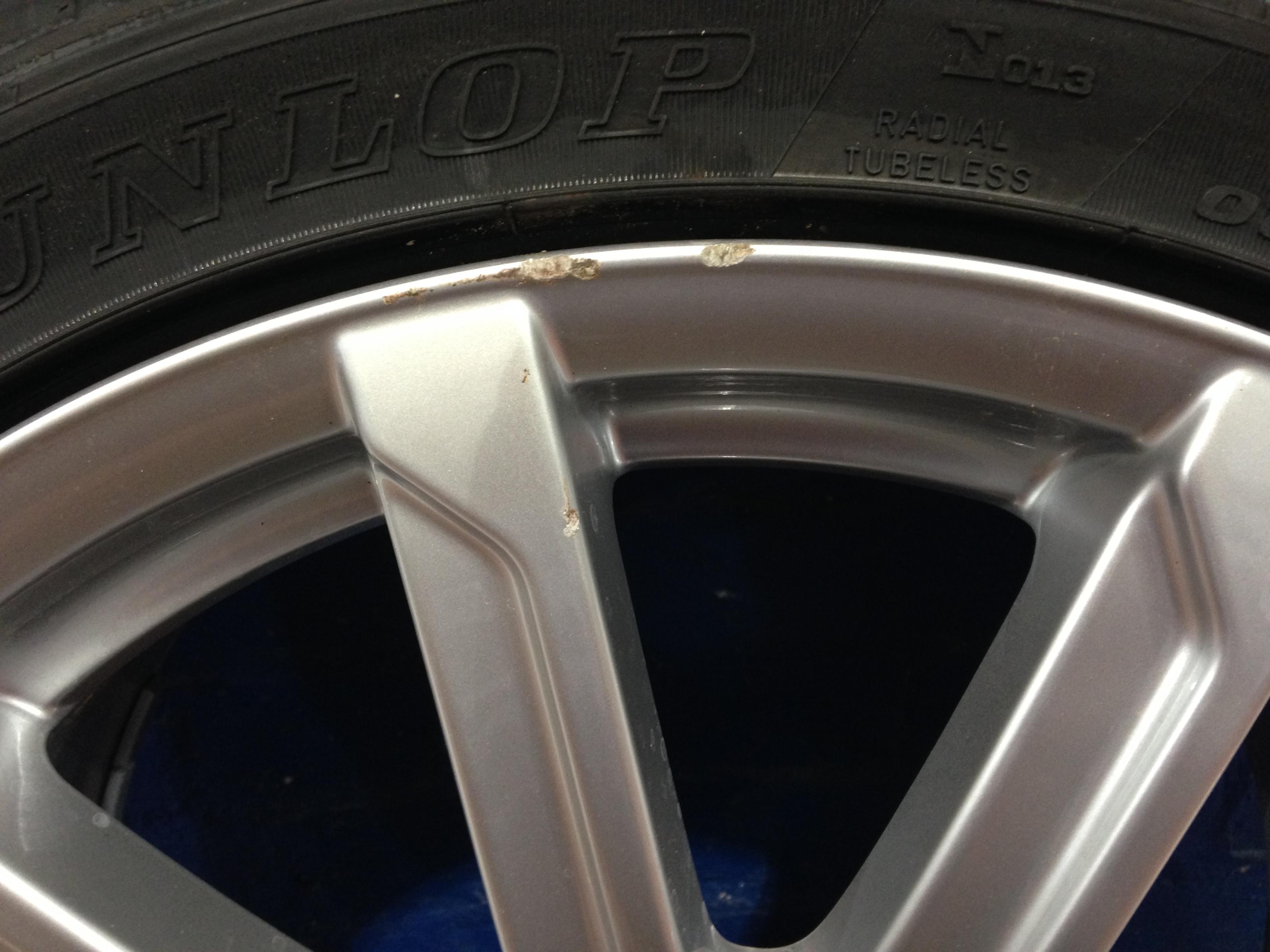 Audi Wheel Before