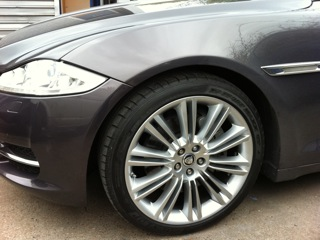 Jag Wheel after